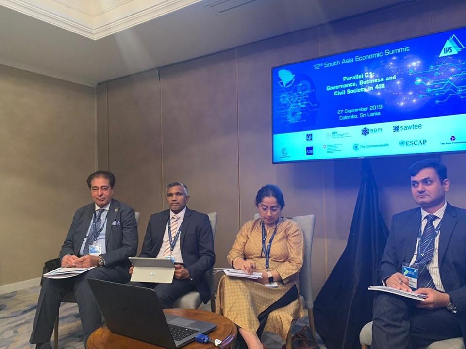 12th South Asia Economic Summit 2019 (SAES XII)