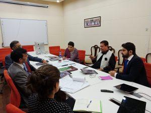 SDGs Secretariat in meeting with SDPI