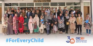 Parliamentary consultation on Child Rights Legislative review at Provincial Assembly Balochistan
