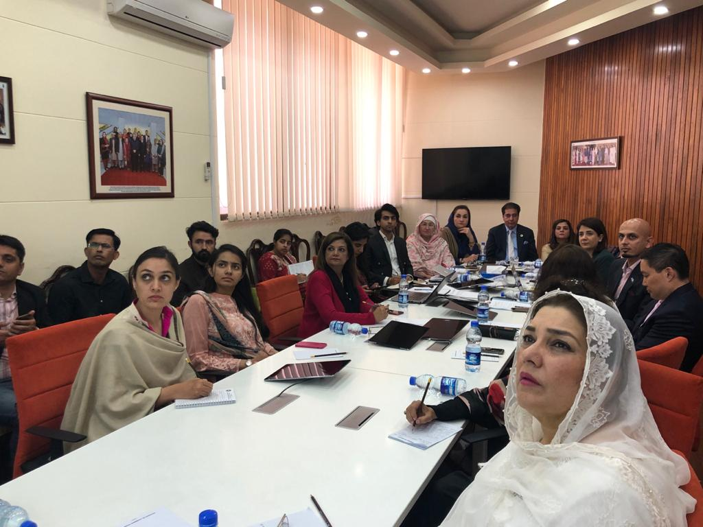 3 March 2020: CONSULTATION MEETING WITH PARLIAMENTARIANS ON ONLINE CHILD SAFETY